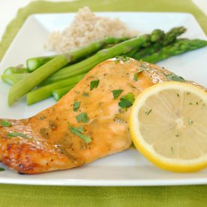 Simple healthy salmon recipe