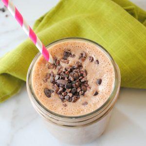 Protein-rich breakfast smoothie