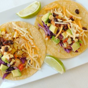 Speedy Salmon Tacos