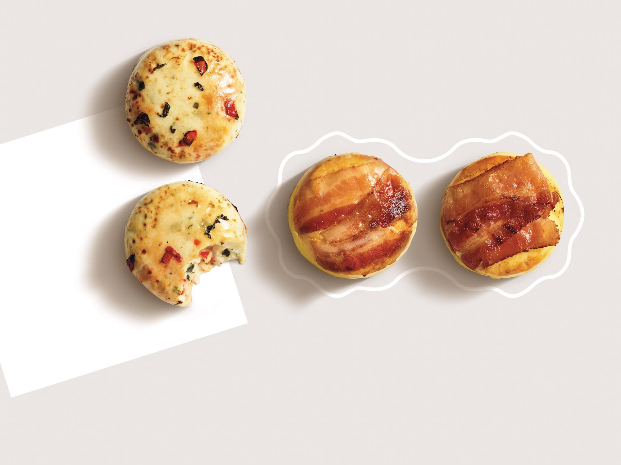 Starbucks S New Cascara Latte Egg Bites C J Nutrition