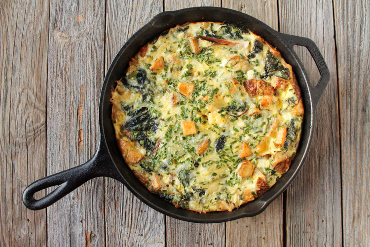 Swiss-Chard-Potato-Chive-Frittata
