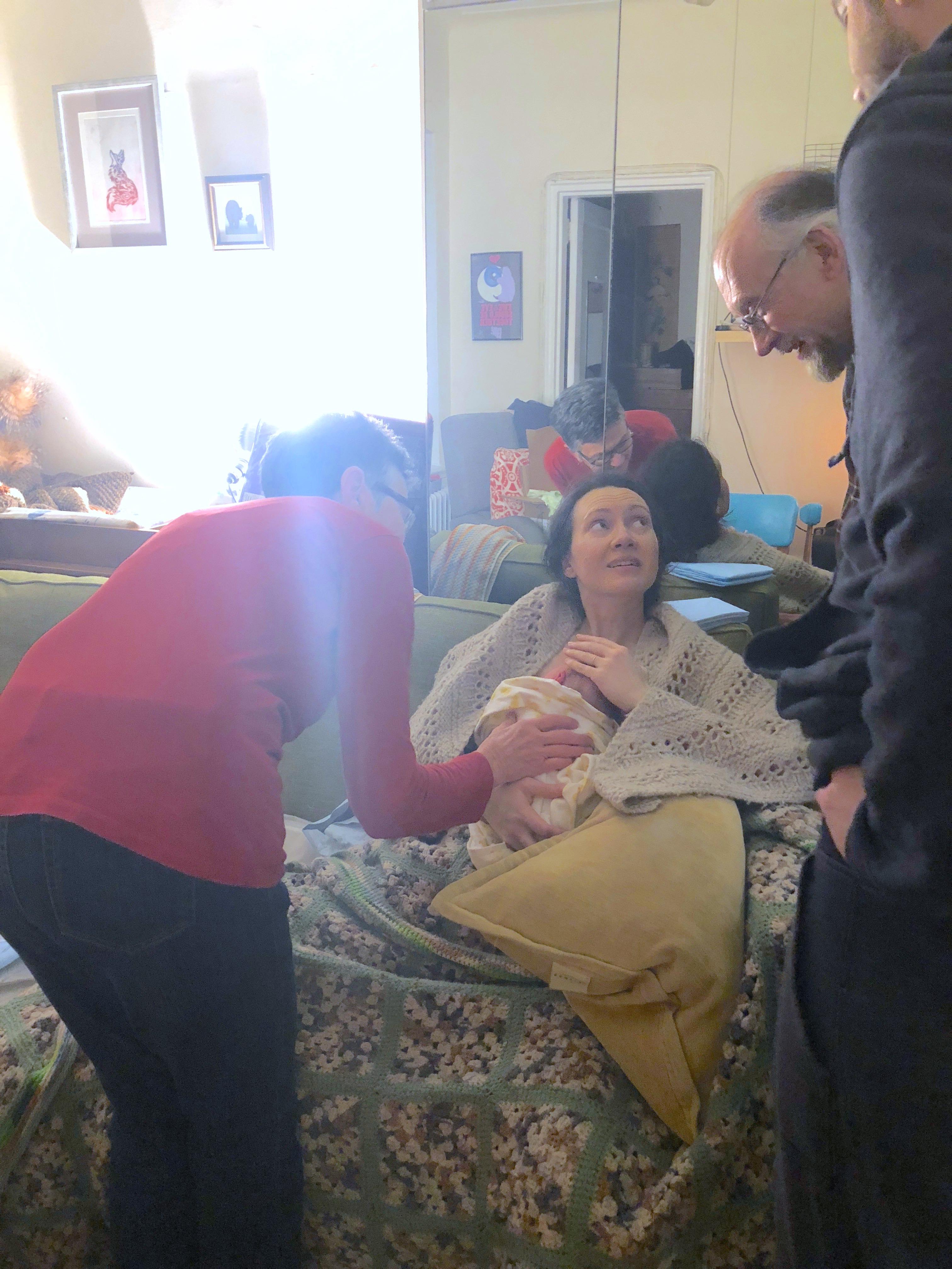meeting grandparents