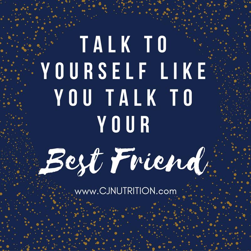 Talk to yourself like a friend