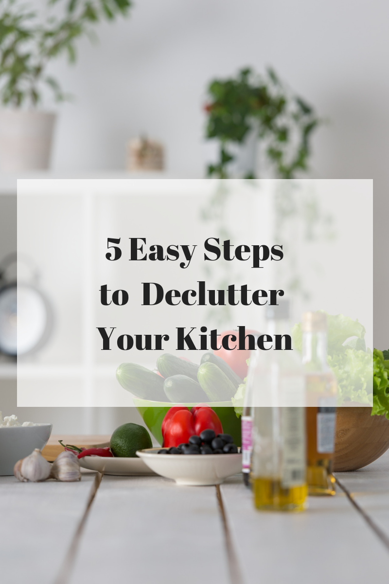 5 Steps to A Clean Decluttered Kitchen (1)