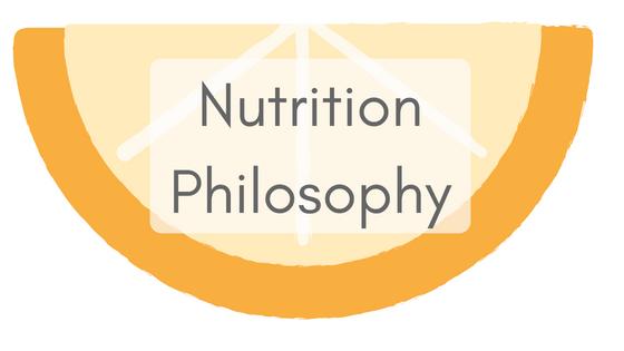 Nutrition Philosophy