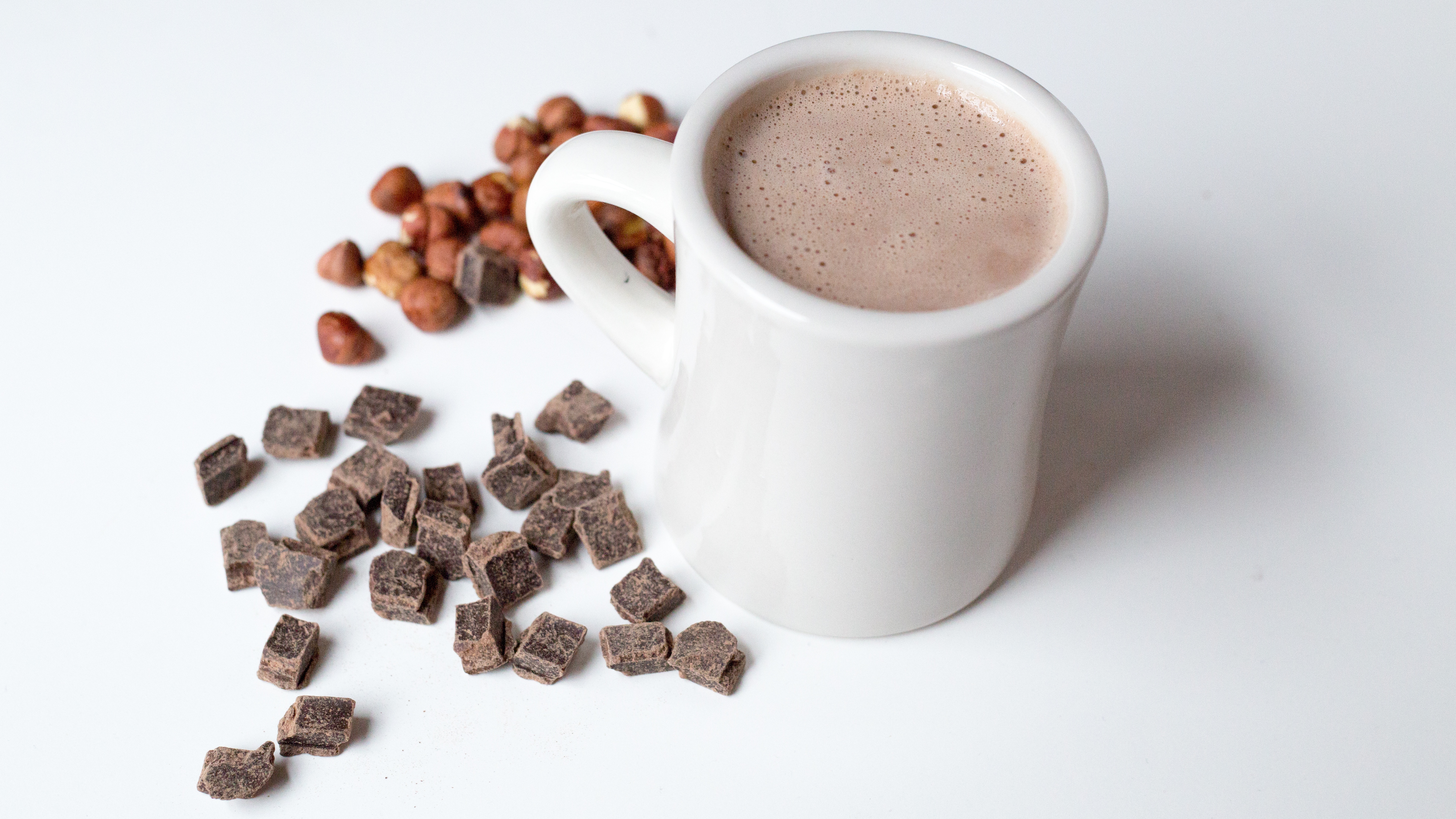 Hazelnut-Dark Chocolate Hot Cocoa