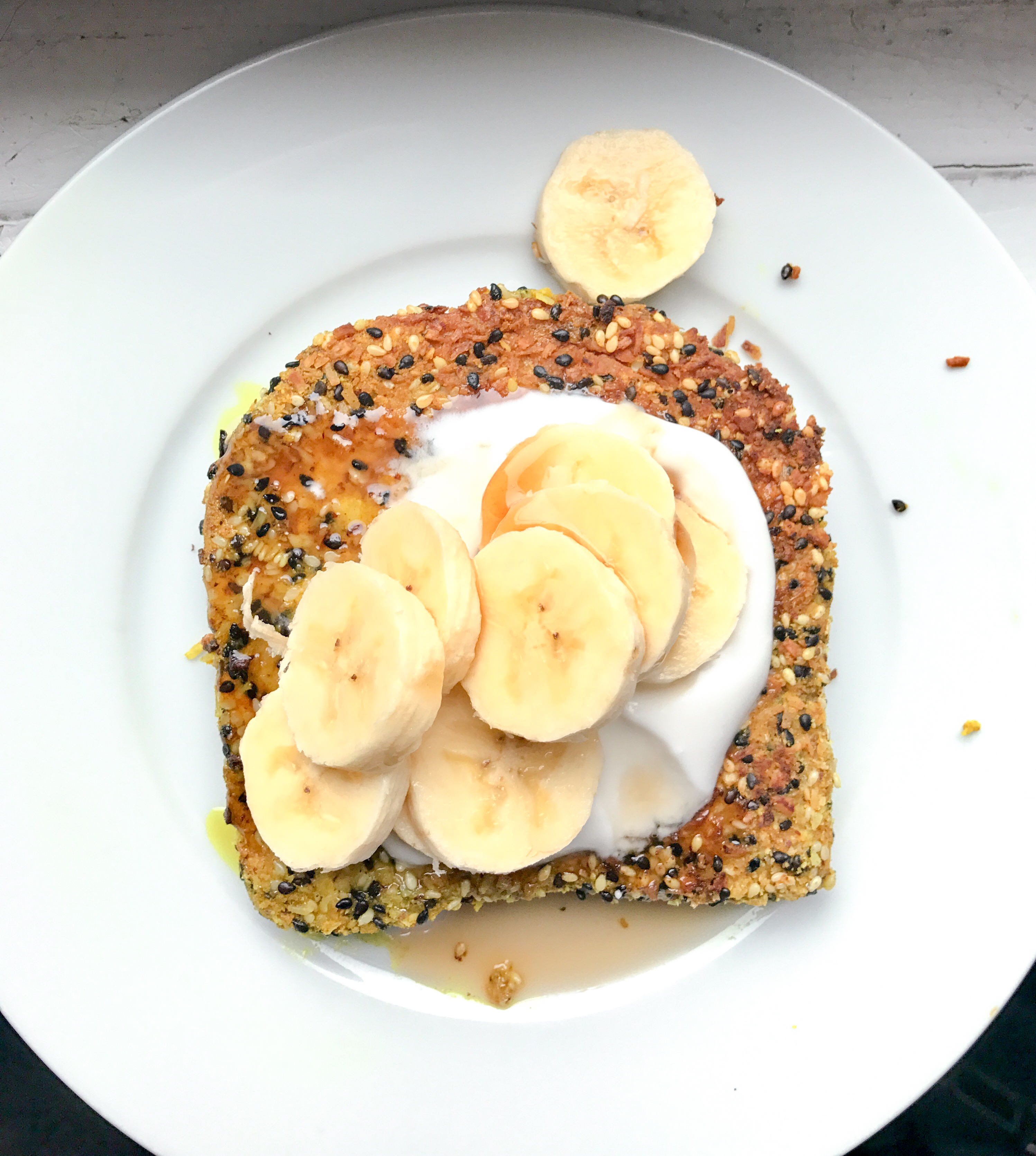 sesame french toast